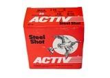 "Activ Steel Shot 12ga (2 3/4"" / 1 1/8 Oz / 2 Shot) *LARGE QUANTITIES AVAILABLE*"