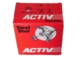 """Activ Steel Shot 12ga (3"""" Shell / 1 3/8 Oz/ 1 Shot) - 25 Pack *LARGE QUANTITIES AVAILABLE*"""
