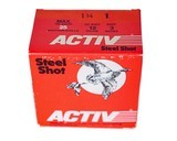 """Activ Steel Shot 12ga (3"""" Shell / 1 1/4 Oz / 1 Shot) - 25 Pack *LARGE QUANTITIES AVAILABLE*"""