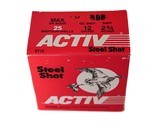 """Activ Steel Shot 12ga (2 3/4"""" Shell / 1 1/4 Oz / BBB) *LARGE QUANTITIES AVAILABLE*"""