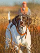 """Rookie Season"" German Shorthair Art Print"