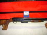 Ithaca 37 Bicentennial 12ga New with Case and Belt Buckle - 1 of 18