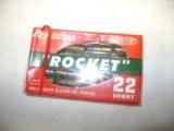 Full Unopened Box Remington Rocket 22 Short