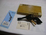 Colt New Frontier 22 with box