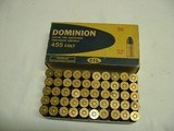 Dominion 455 Colt 265 gr Lead Full Box