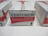 3 Boxes 150 rds Centurion 5MM Rimfire Magnum - 3 of 7