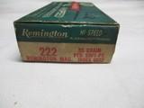 Remington Kleanbore 222 Rem Mag Ammo Full Box 20rds - 2 of 7