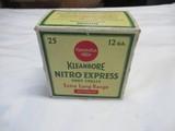 Remington Kleanbore Nitro Express 12ga Full Box
