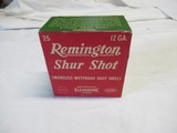 Full Box Remington Shur Shot Kleanbore 12ga Shot Shells