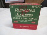 Full Box Remington Kleanbore Extra Long Range 16ga