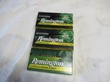 3 Full boxes Remington Core-Lokt 243 Win