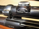 EARLY Remington 700 Varmit 222 Rem with Period Redfield Scope NICE! - 19 of 22