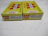 2 Full boxes Winchester Super Speed 225 win Ammo - 3 of 6