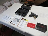 Glock 42 with case,paperwork,extra mag & Crimson Trace Laser Sight