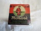 Full Box Federal Monark Red Sweater US Property Stamped Trap Shells 12ga