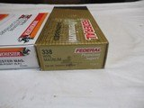 2 Boxes Factory 338 Ammo 40 Rds