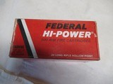 Full Brick Federal HI-Power 22 LR Hollow Point 500 RDS - 1 of 5
