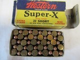 4 Vintage Full Boxes 22 Ammo 2 Western, 1 Chnuck, 1 Remington - 5 of 9