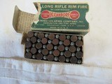 4 Vintage Full Boxes 22 Ammo 2 Western, 1 Chnuck, 1 Remington - 7 of 9