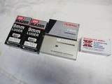 5 Boxes 250 Rds Factory 9MM Luger Ammo