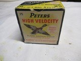 Full Box Peters High Velocity 20ga Magnum