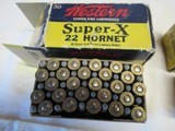 2 Boxes Western Super X Lubaloy 22 Hornet - 2 of 6