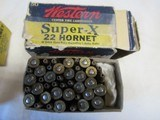 2 Boxes Western Super X Lubaloy 22 Hornet - 3 of 6