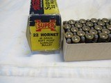 2 Boxes Western Super X Lubaloy 22 Hornet - 4 of 6