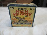 Full Box Peters High Velocity 12ga - 1 of 8