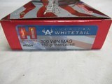 Full box 20 rds Hornady American Whitetail 300 Win Mag Ammo - 3 of 3