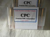 4 Boxes 80 Rds CPC Premium Rifle 340 Wby Mag Ammo - 3 of 4