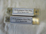 2 Boxes 40 Rds CPC Precision Rifle 338 Rem Ultra Mag Ammo