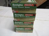 4 Boxes 80 Rds Remington Premier Scirocco Bonded 7MM Rem Ultra Mag Ammo - 1 of 3