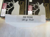3 Boxes 60 Rds HSM Trophy Gold 300 WSM Ammo - 5 of 8