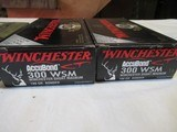 4 Boxes 80 Rds 300 WSM Ammo