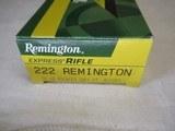 Full box 20 Rds Remington 222 Rem Ammo - 2 of 4