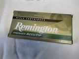 Full Box 20 Rds Remington Premier Accutip 270 WSM Ammo - 1 of 4