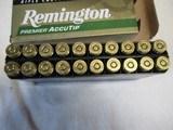 Full Box 20 Rds Remington Premier Accutip 270 WSM Ammo - 3 of 4