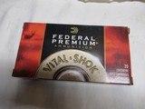 Full Box 20 Rds Federal Premium Vital-Shok 7MM Rem Mag Ammo
