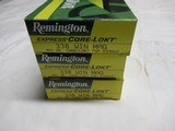3 Boxes 60 Rds Remington Core-Lokt 338 Win Mag ammo