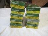 9 Boxes 180 Rds Remington 222 Rem Magnum Factory Ammo