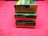 3 Boxes 60 Rds Remington Core-Lokt 25-06 Factory ammo - 1 of 3