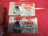 14 Boxes 1400 Hornady V-Max 22 Cal bullets - 4 of 4