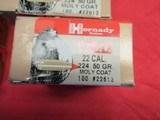 14 Boxes 1400 Hornady V-Max 22 Cal bullets - 3 of 4