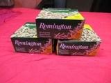 3 Boxes 1575 Rds Remington 22 Long Rifle Hollow points