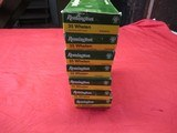 7 Boxes 140 Rds Remington 35 Whelen Ammo - 1 of 1