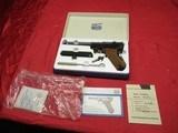 "Interarms Mauser P-08 30 Luger 6"" Barrel Rare!"