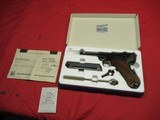 Interarms Mauser P-08 9MM Luger NIB - 1 of 14