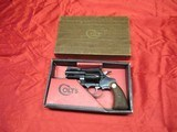 "Colt Diamondback 2 1/2"" 38 with box"