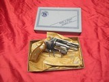 Smith & Wesson Mod 37 Airweight Nickel 38 with Box